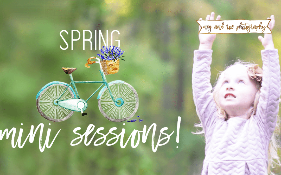 Spring minis are here!