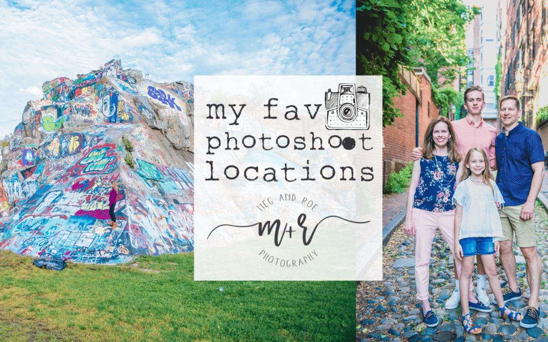 My favorite photoshoot locations!
