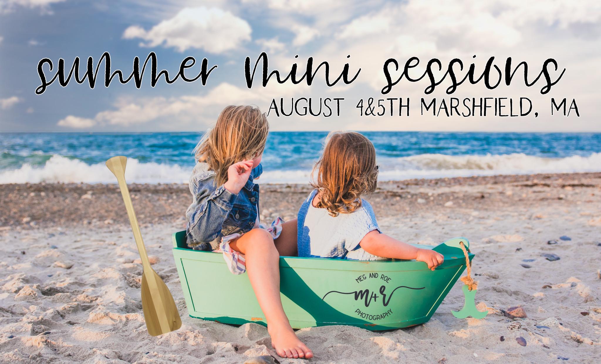 Summer mini sessions 2020