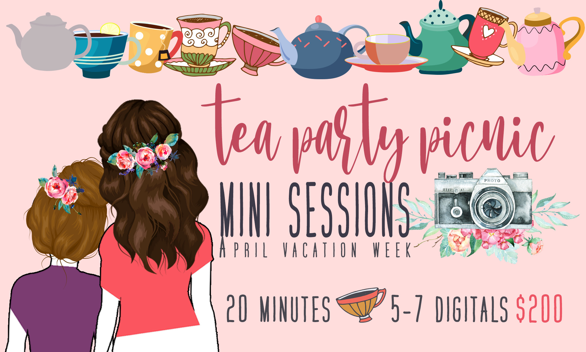 Tea Party Mini Sessions Marshfield